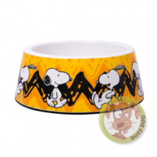 Comedouro Snoopy Amarela