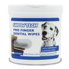 Toalhitas para higiene oral (Para cão e Gato)