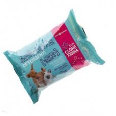 Toalhetes de limpeza para cães e gatos - Clorexidina