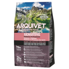 Arquivet Adulto Sensitive Salmão e Batata