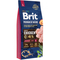 Brit Blue Nature Junior Large 15Kg