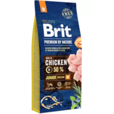 Brit Blue Nature Junior Médio 15Kg
