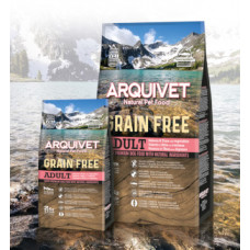 Arquivet Adulto Grain Free Salmão e Atum 12Kg