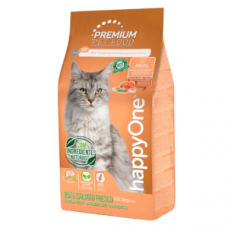 HappyOne Premium Gato Adulto Salmão Fresco 1.5Kg