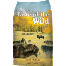 Taste of the Wild High Prairie Adulto (Búfalo e Veado) 12.2Kg