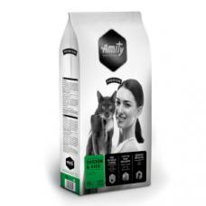 Amity Premium Gato - Galinha e Arroz Adulto