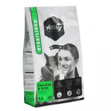 Amity Premium Gato - Galinha e Arroz Esterilizado