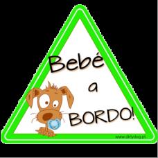 """Autocolante """"Bebé a Bordo"""""""
