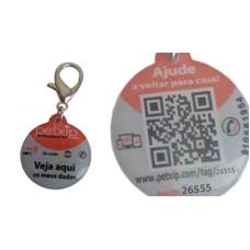 Medalha TAG com geo localização